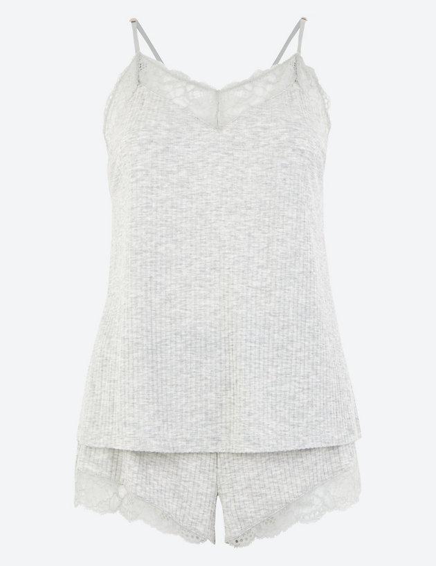 Lace Lounge Camisole Set