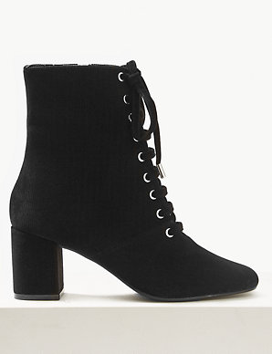 buy sale big discount cheapest price Lace-up Ankle Boots