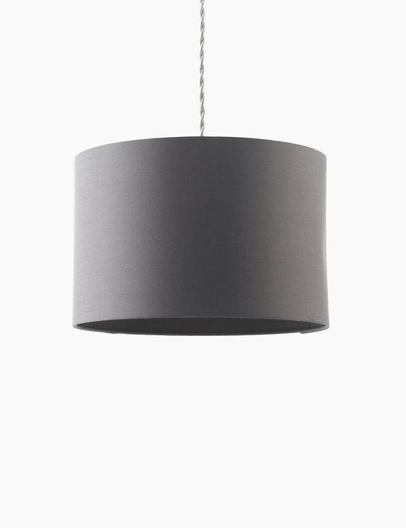 Large Drum Lamp Shade M S, Large Drum Lamp Shade Grey
