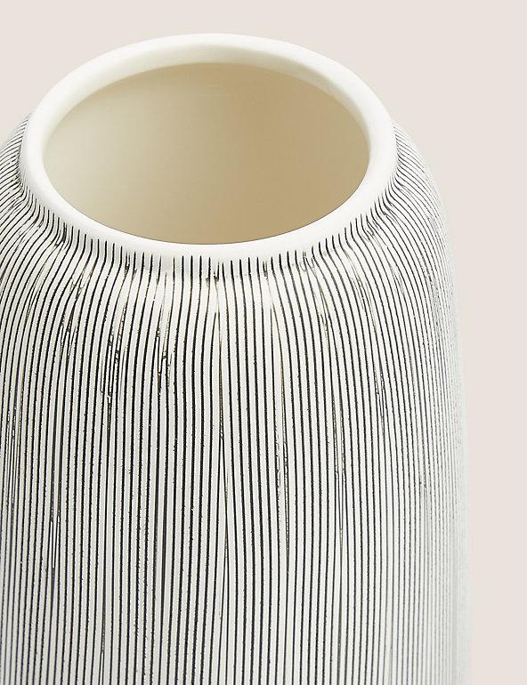 Large Linear Striped Vase M S