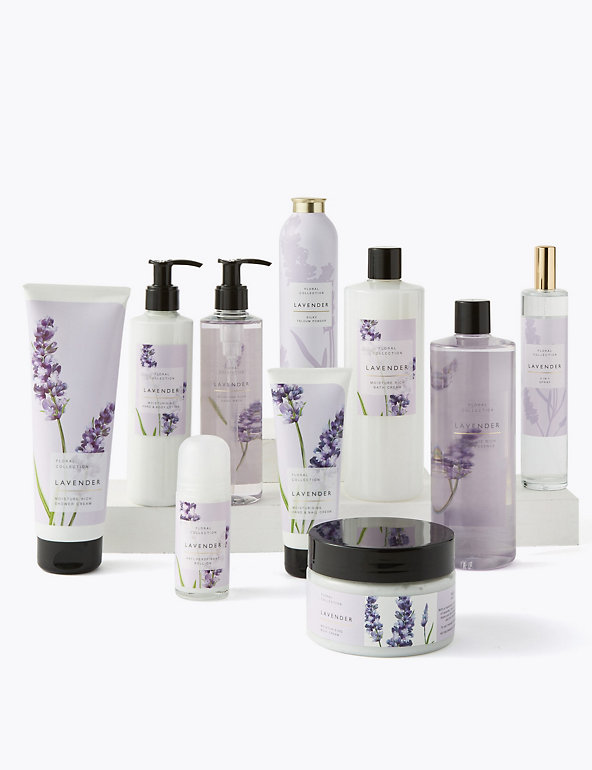 Lavender Foaming Bath Essence 500ml Floral Collection M S