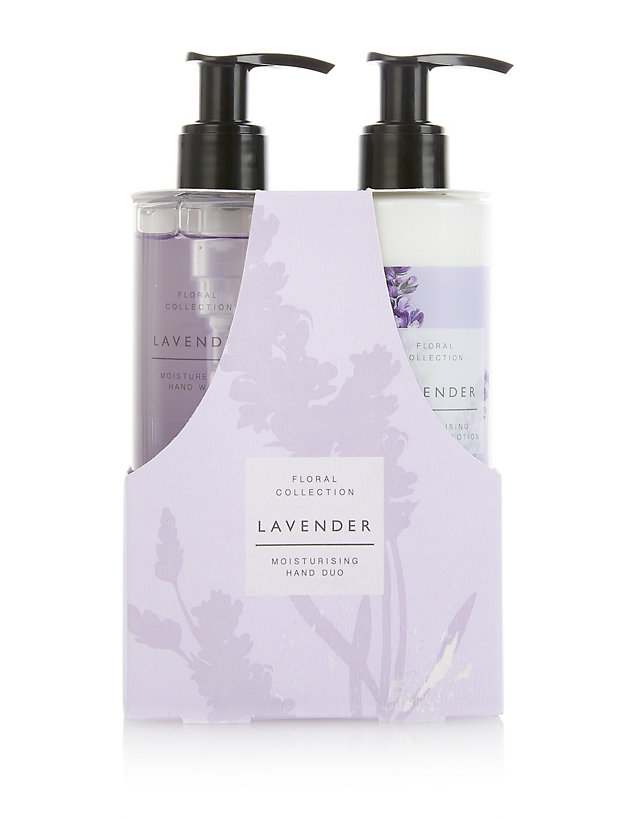 Lavender Hand Duo