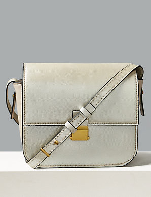 be0de888add Leather Cross Body Bag | Autograph | M&S