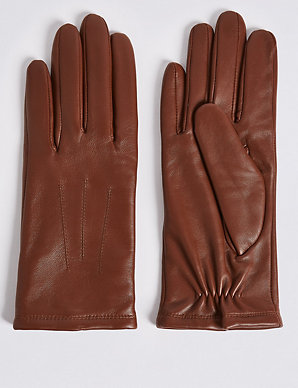 4fb099086 Leather Gloves   M&S Collection   M&S