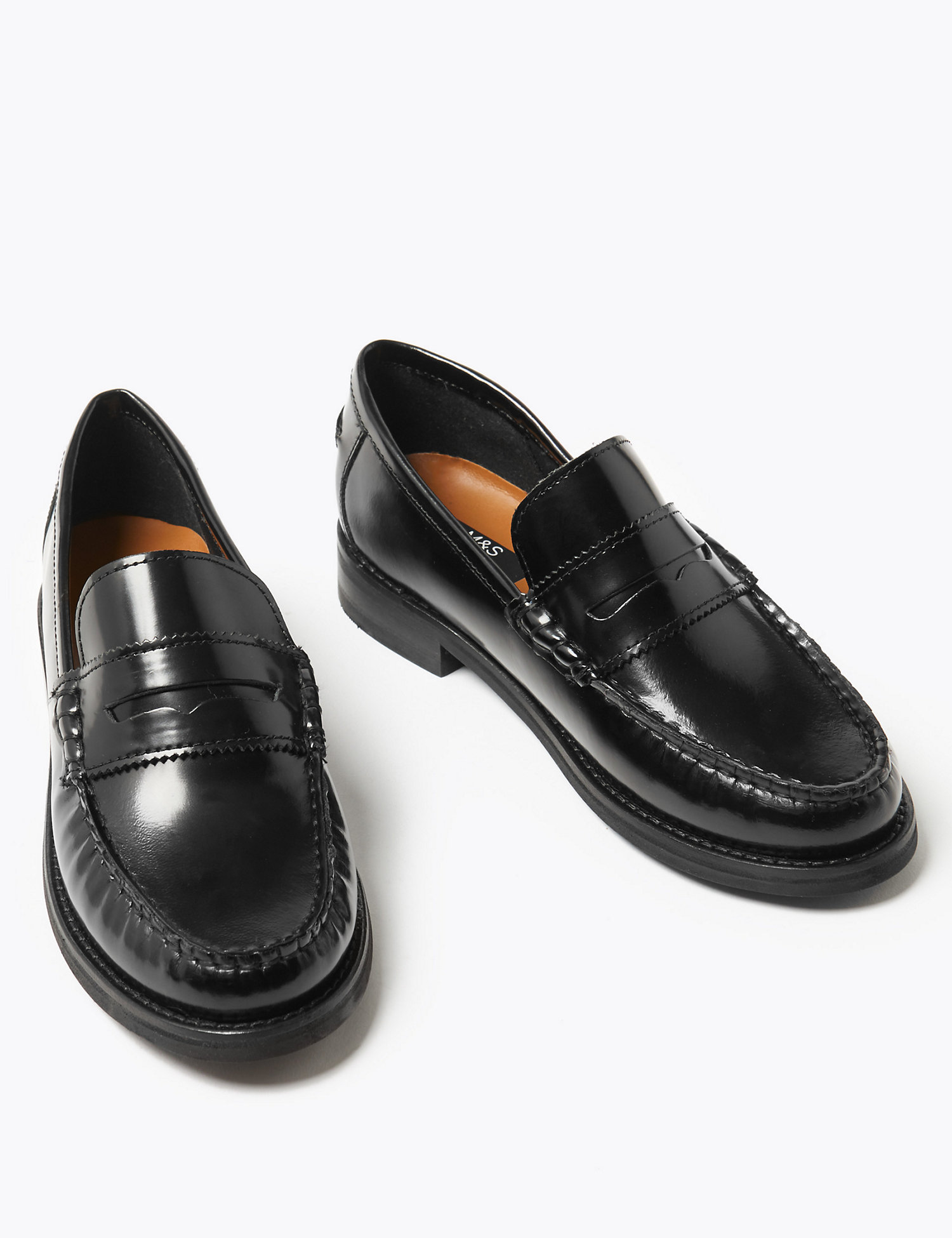 M&S COLLECTION  Leather Loafers