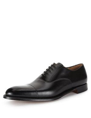 337ea80c90d Leather Toe Cap Oxford Shoes