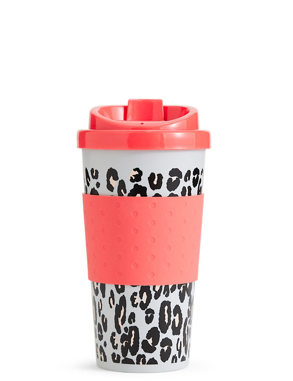 Leopard Print Travel Mug M S