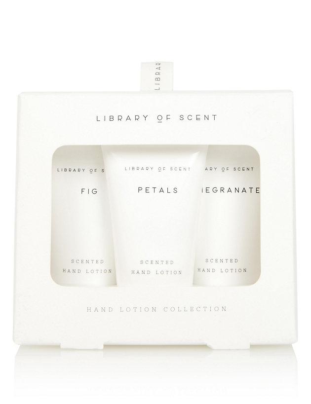 Library of Scent Hand Cream Trio