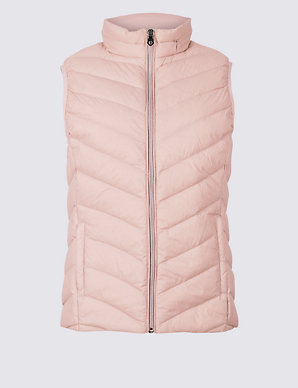 aeb215c1411 Lightweight Down & Feather Gilet | M&S Collection | M&S