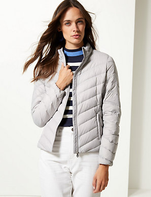 786dd78bf3 Lightweight Down & Feather Jacket | M&S Collection | M&S