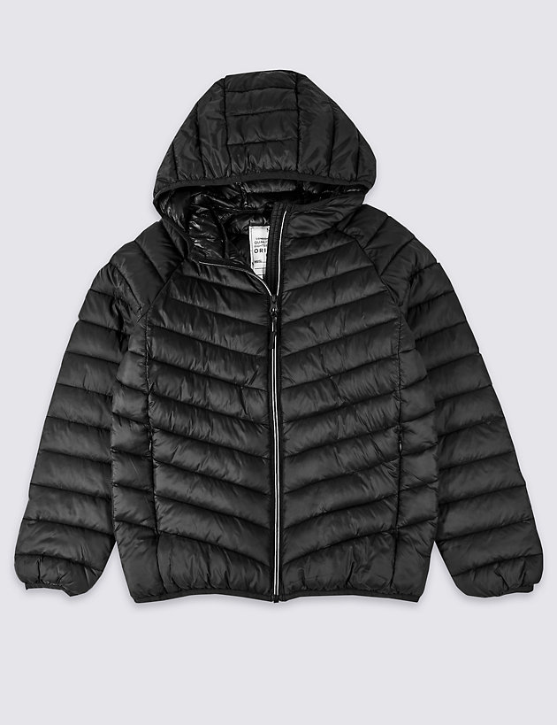 Lightweight Hooded Coat (3-16 Years)