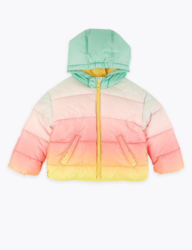 Lightweight Ombre Padded Coat (2-7 Years)