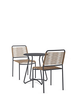 Lois Bistro Table 2 Chairs Set