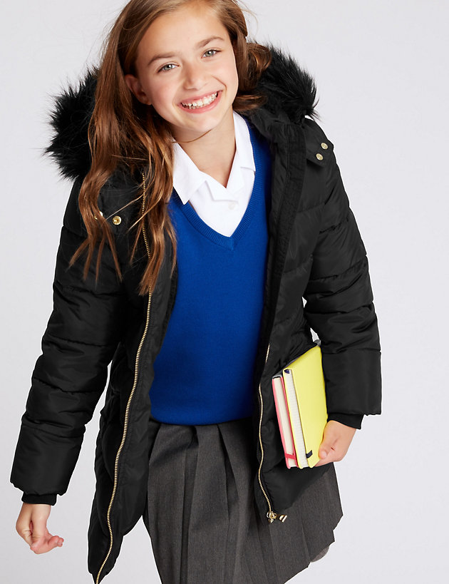 School m/&s  Coat brand new 7//8 yrs