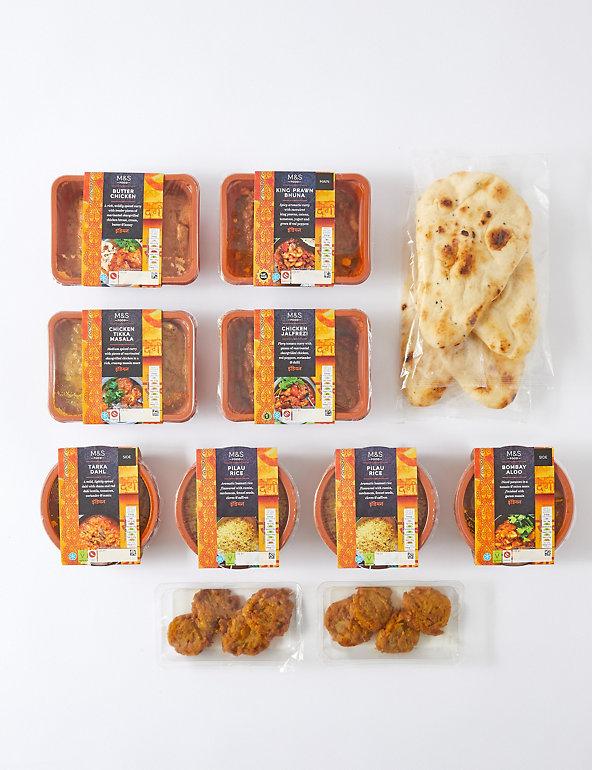 M S Indian Takeaway Big Night In Food Box M S