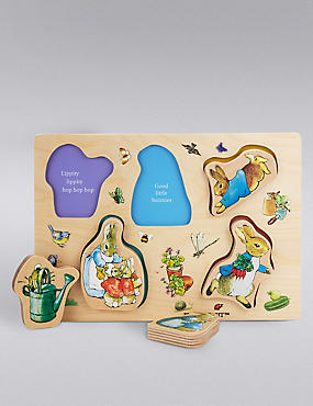 Peter Rabbit™ Wooden Puzzle