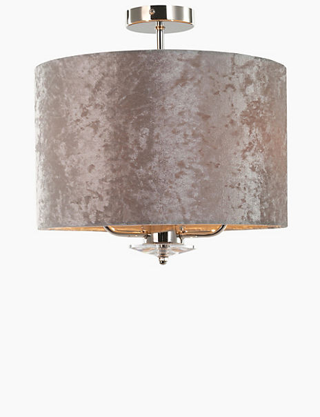 Multi-Arm Flush Velvet Shade