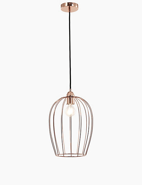 Copper Single Pendant