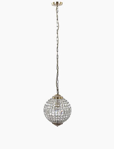 Gem Ball Medium Ceiling Pendant