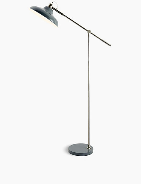 Lincoln Salvage Lantern Floor Lamp