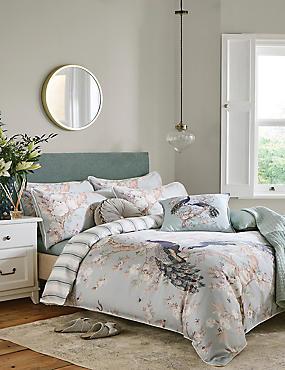 Pure Cotton Belvedere Sateen Bedding Set