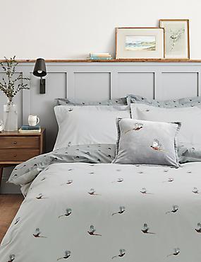 Pure Cotton Pheasant Bedding Set