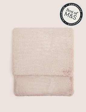 Supersoft Faux Fur Throw