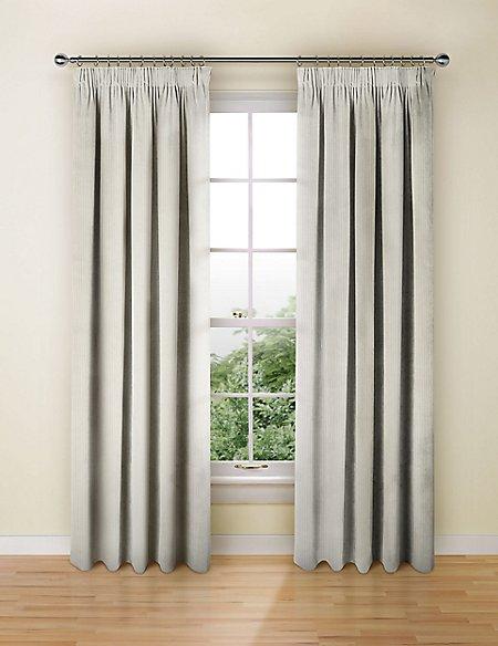 Stripe Pencil Pleat Curtains
