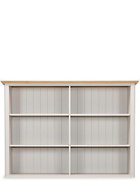 Padstow 3-Door Open Sideboard Top