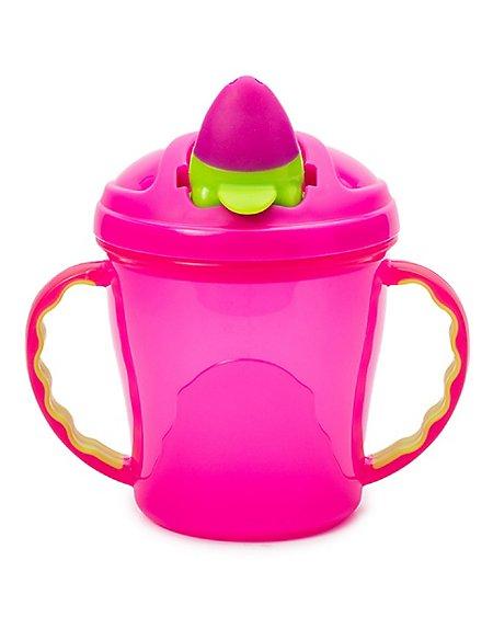 Soft Flip-Spout Free-Flow Cup