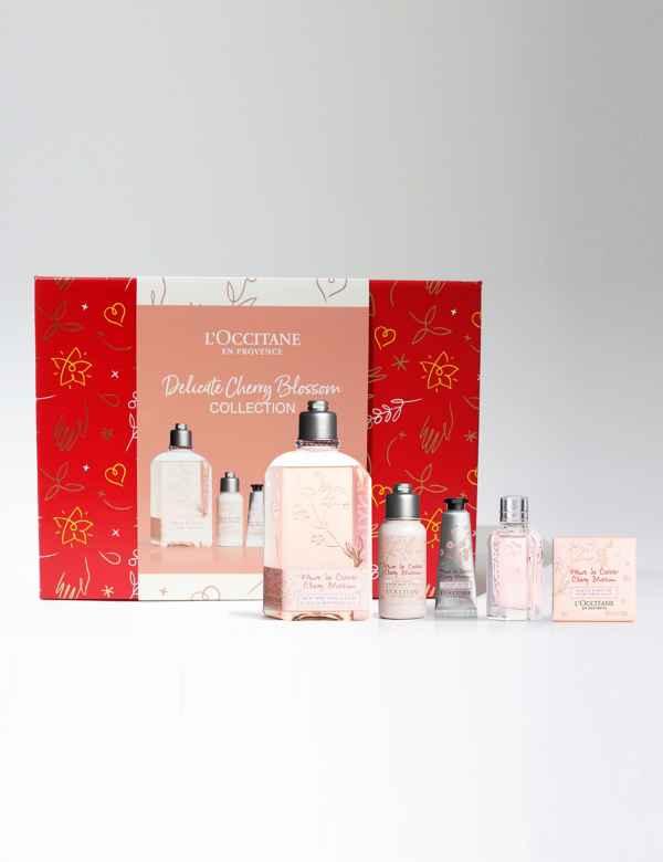 Buy Loccitane hand cream gift box 8 sets of sheacherryrose