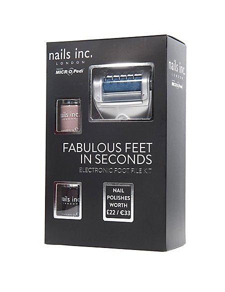 Nails Inc Gift Set with 2 Varnishes