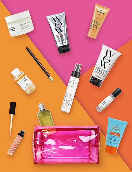 Summer Beauty Bag 2020 | SUMMER BEAUTY IN A BAG | M&S
