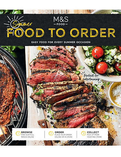 Free Summer 2019 Food to Order Catalogue
