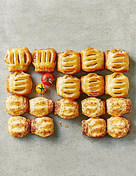 Savoury Roll Selection (27 Pieces)