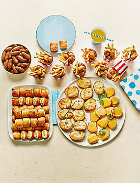 Kids Party Food Selection (112 Pieces)