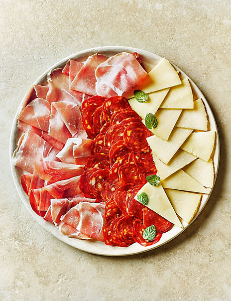 Traditional Spanish Platter with Manchego Cheese Selection (Serves 6)