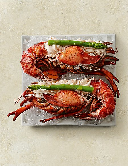 how to serve fresh lobster