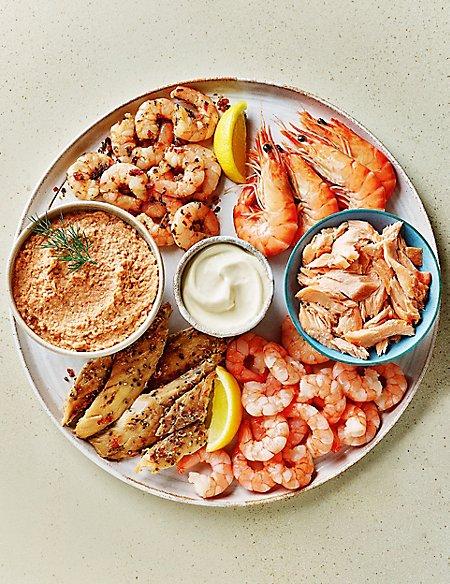 Seafood Platter (Serves 2-4)