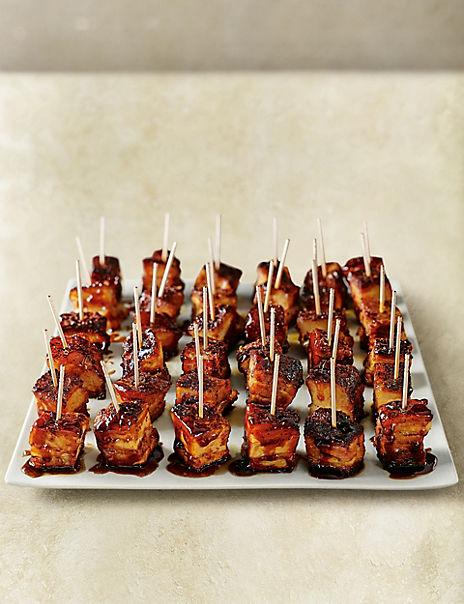British Pork Belly Squares (36 Pieces)