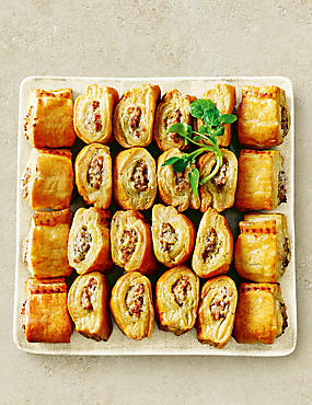 Handcrafted Pork Sausage Rolls (24 Pieces)