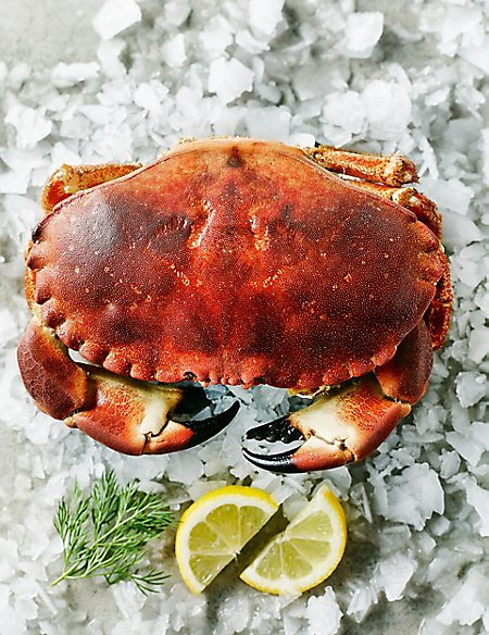Whole Orkney Crab (Serves 2)
