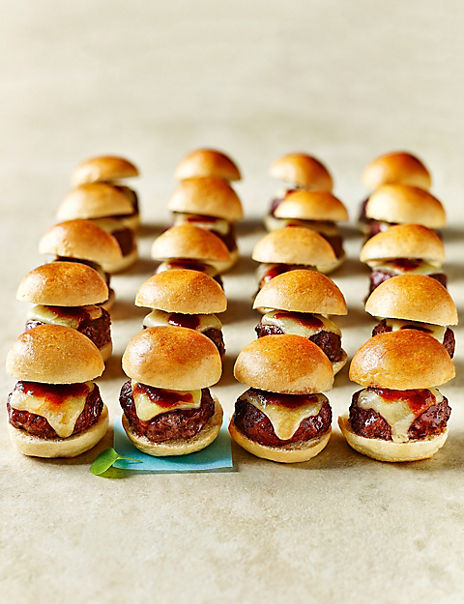Mini Ultimate Cheese Burgers (20 Pieces)