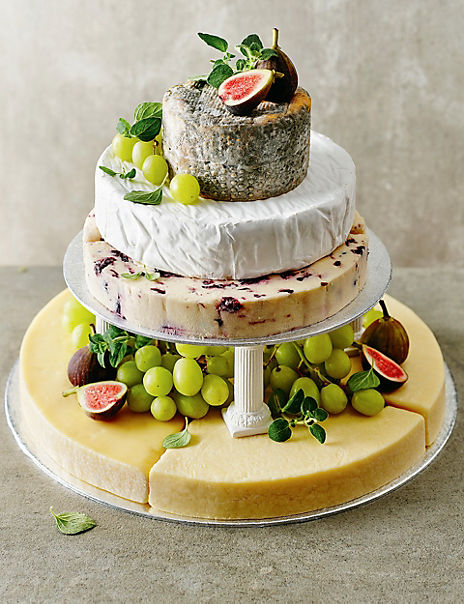 Small Cheese Celebration Cake (Serves 50-70)