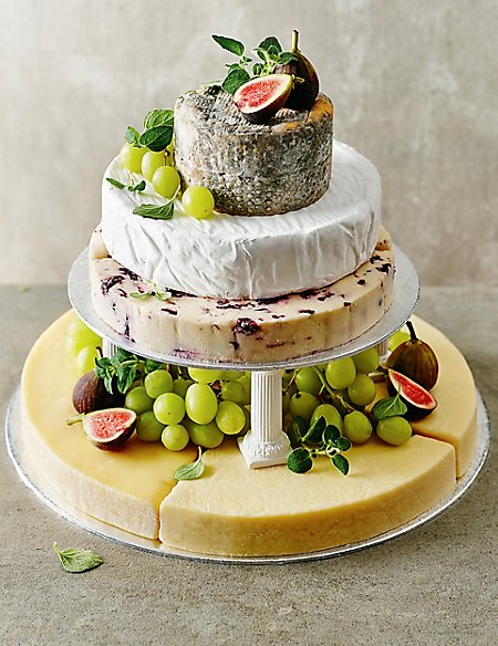 savoury wedding cake ideas small cheese celebration cake serves 50 70 m amp s 19685