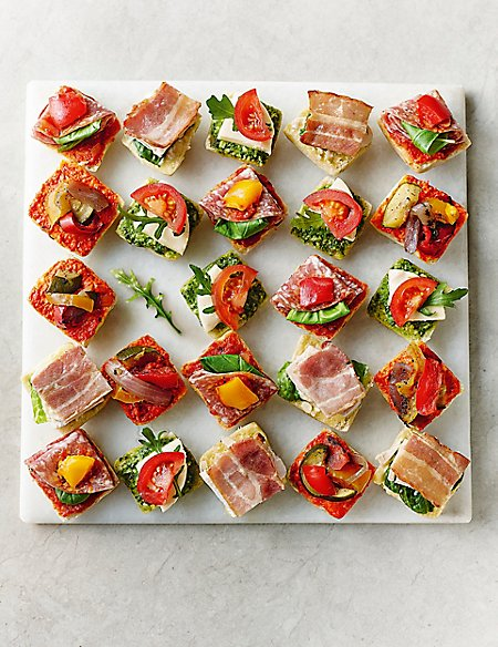 Antipasti Mini Canapé Selection (24 Pieces)