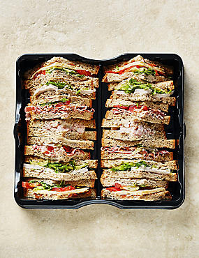 Gluten-Free Classic Sandwich Selection (14 Quarters)