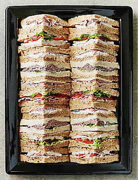 Meat Sandwich Selection (20 Quarters)