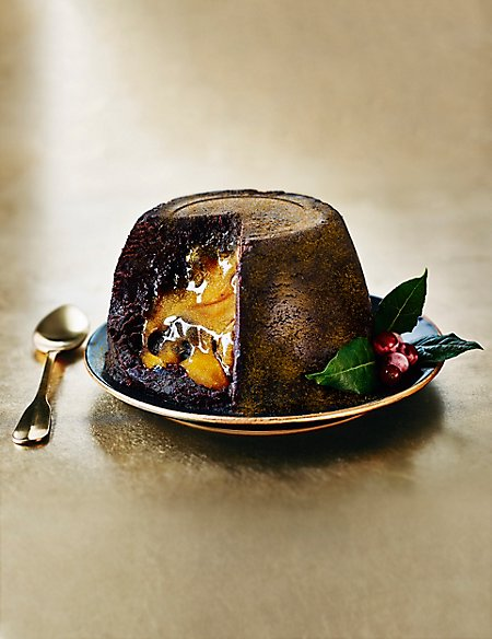 Shimmering Gold Melt in the Middle Pudding