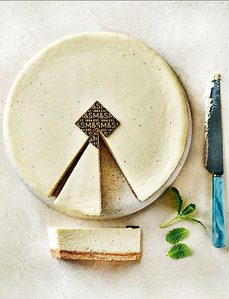 Vanilla Cheesecake (Serves 10)
